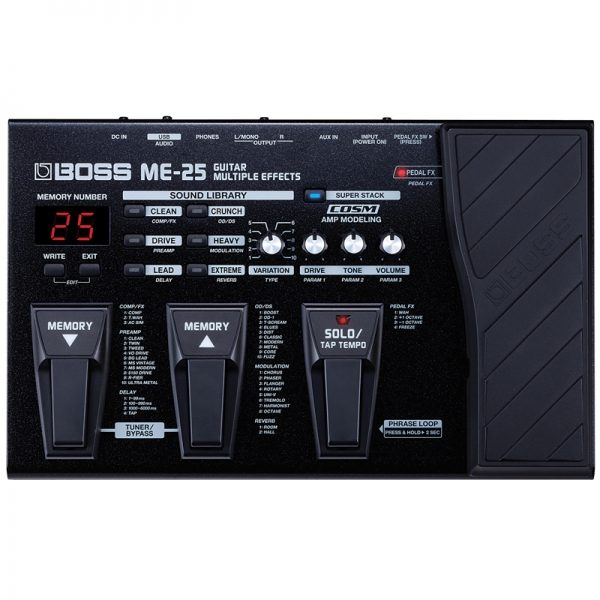 BOSS ME-25 Multi-Effects Pedal Unit
