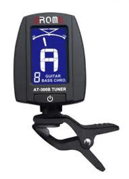 Aroma AT-300B Chromatic Clip-on Guitar Tuner