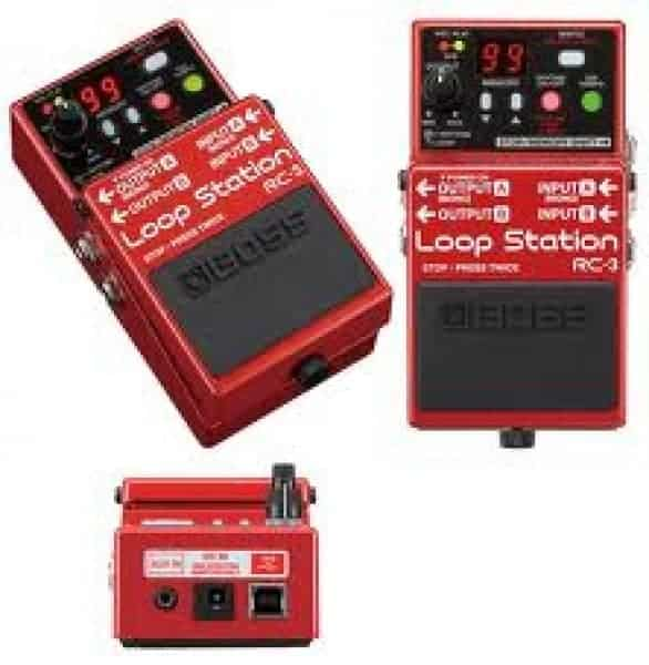 BOSS RC-3 Loopstation Pedal