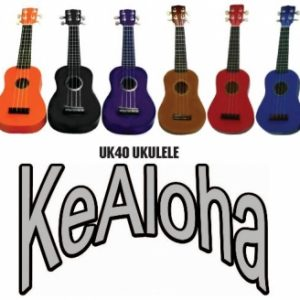 Kealoh Coloured Ukuleles