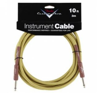 Fender Custom Shop Performance Series Cable - Tweed 10'