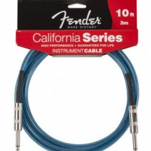 Fender CaliforniInstrument Cable - Lake Placid Blue 10'