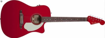"Fender Sonoran SCE Candy Apple Red ""Version 2"""