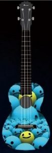 Kealoh Concert Uke AUP24/43 (Smiley Ball)
