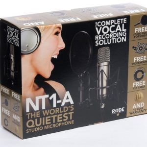 """RODE NT1-1"""" Cardioid Condenser Microphone"""