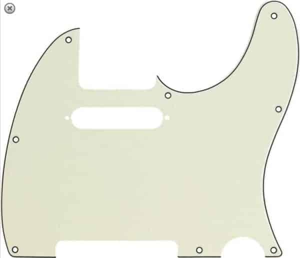 Fender 8-hole Multy-ply Telecaster Pickguard Mint Green
