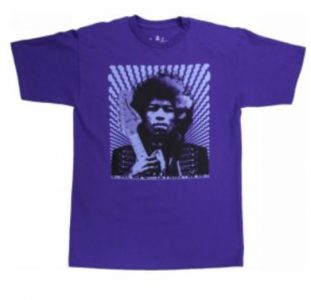 "Fender Jimi Hendrix ""Kiss the Sky"" T-Shirt L"