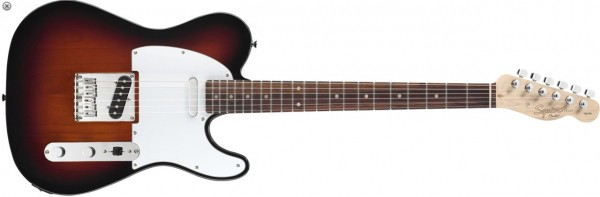 Squier Telecaster by Fender Affinity Sunburst / Rosewood