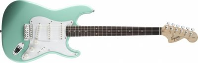 Squier Stratocaster by Fender Affinity Series Surf Green
