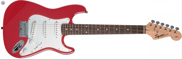 Squier by Fender Affinity Stratocaster Mini - Torino Red