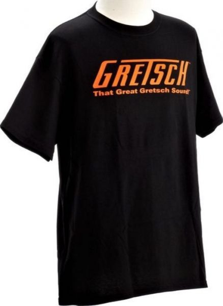 "Gretsch Tee"" Great Gretsch Sound"" Black (M)"