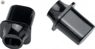 Fender Switch Tip - Tele 'Top Hat' Black (2)