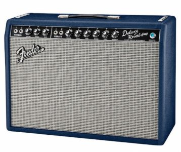 "Fender Deluxe Reverb USLimited Edition Navy Blue ""1 of 10 for Oz"""