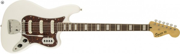 Squier by Fender Vintage Modified Bass VI - Olympic White
