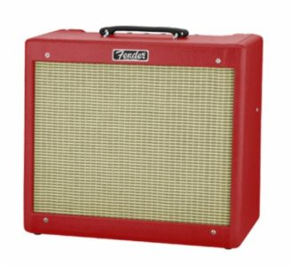 Fender Ltd Ed Blues Junior British red/wheat Celestion Greenback Speaker