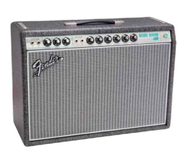 Fender Ltd Ed 68 Deluxe reverb gunmetal grey Celestion greenback