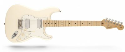 Fender American Standard Stratocaster HH RW Olympic White