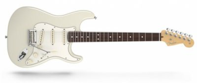 Fender American Standard Stratocaster RW Olympic White