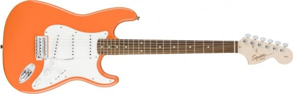 Squier by Fender Affinity Stratocaster Competition Orange