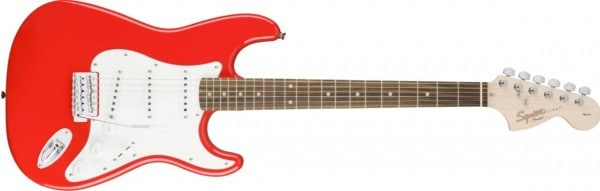 Squier by Fender Afinity Stratocaster Race Red