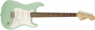 Squier by Fender Affinity Stratocaster Surf Green