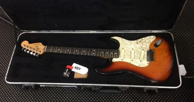 Fender Strat Plus 1997 Sunburst Rosewood Board