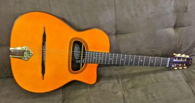 Aria MM-10 Gypsy Guitar