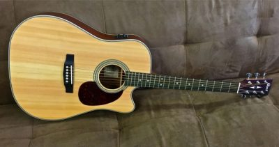 Cort MR600F NS Acoustic Electric Cutaway
