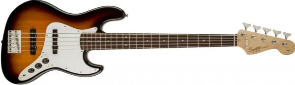 Squier by Fender Affinity Series Jazz Bass - Brown Sunburst