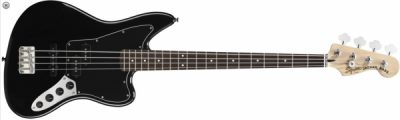 Squier by Fender Jaguar Bass Special Black Vintage Mod