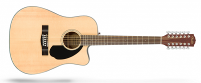 Fender CD-60SCE-12 dreadnought 12 string