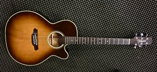 Takamine PTU508 TBS 2005 Acoustic Electric Guitar