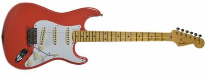 Fender Custom Shop 1958 Journeyman Relic Stratocaster FiestRed