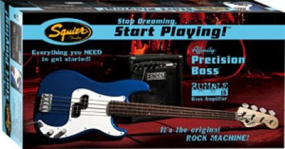Squier Precision/Jazz Bass Pack
