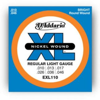 D'Addario EXL110 Nickel Wound, RegularLight , 10-46
