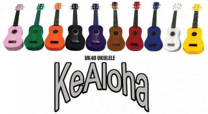 Kealoh Coloured Ukuleles