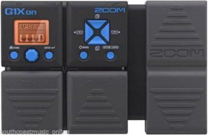 Zoom G1XON Electric Guitar Multi FX Pedal