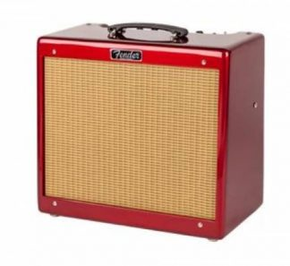 Fender FSR Blues JR, Candy Apple Red / Wheat