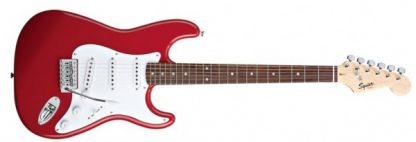 Squier Stratocaster by Fender Bullet FiestRed