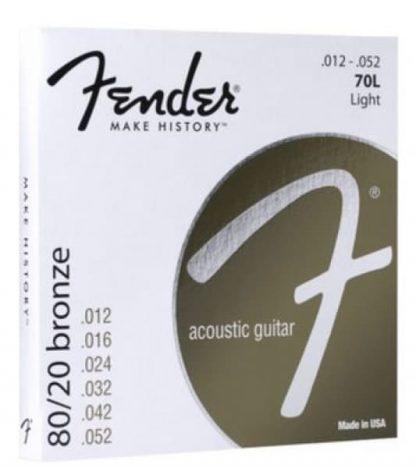 Fender 80/20 Bronze strings - Acoustic 12-52