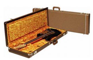 Fender Strat /Tele G&G Deluxe Case - Brown Tolex