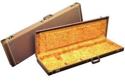 Fender Jaguar/Jazzmaster Multi-Fit Hardshell Case - Brown