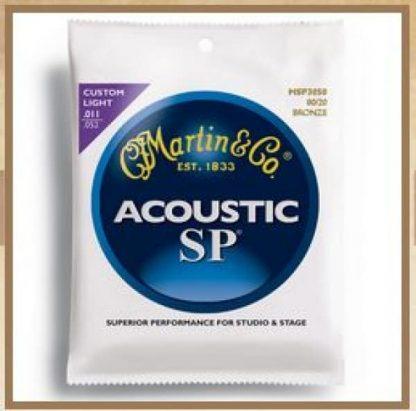 Martin MSP3050 SP, Custom Light, 80/20 11-52