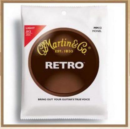 Martin MM12 Martin Retro Strings, Light, Monel 12-54