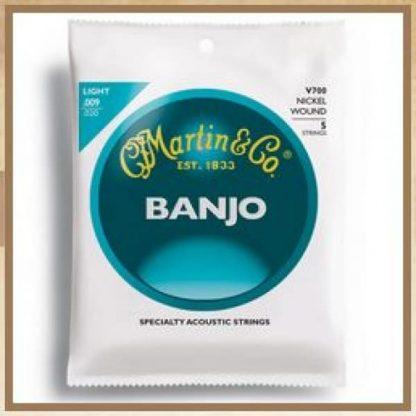 Martin V700 Veg5 String Banjo, Light