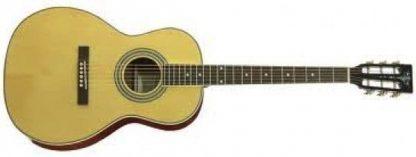 Aria AP STD II Parlor Acoustic/Electric Guitar