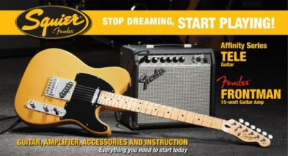 Squier by Fender Telecaster Guitar Pack