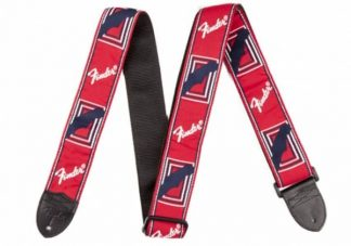 Fender Monogrammed Straps Red/White/Blue