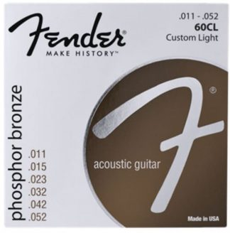 Fender Phosphor Bronze Acoustic Guitar Strings 11-52