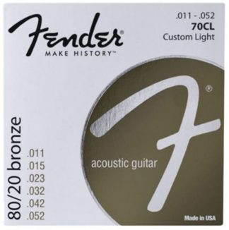 Fender 80/20 Bronze Acoustic Strings 11-52